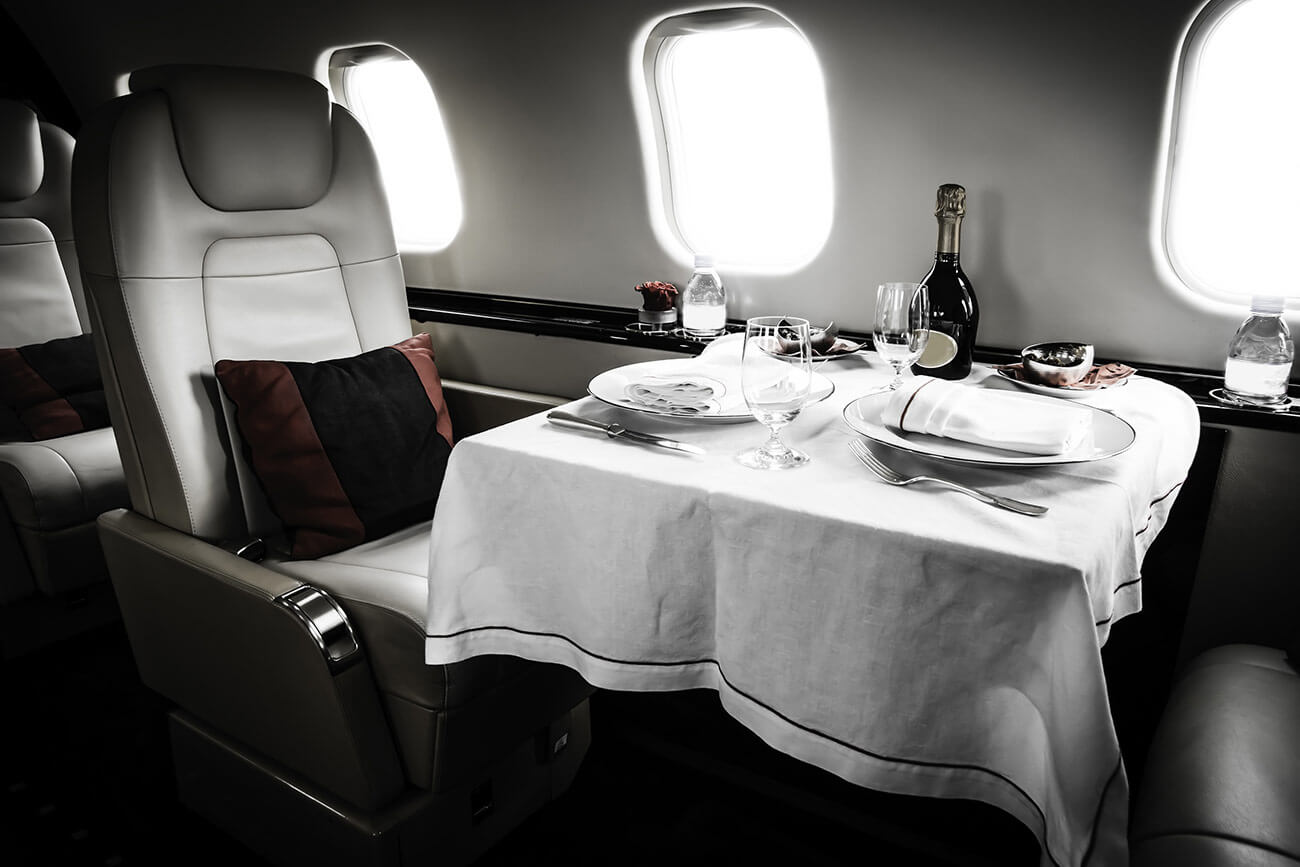 luxury charter jets