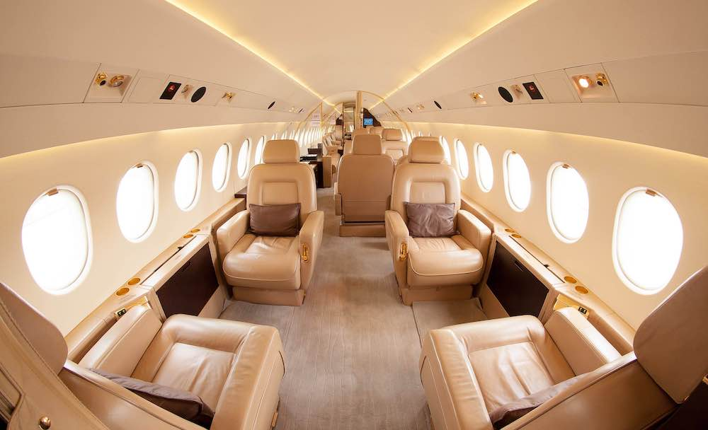 rent private jet india